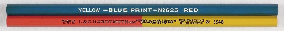 Blue Print Pencils
